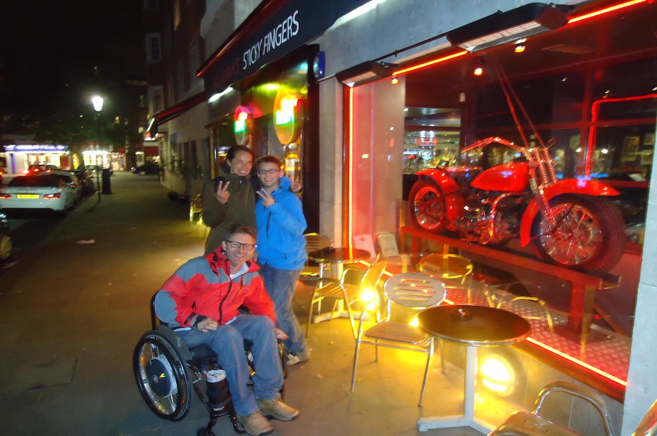 Stedentrip met rolstoel naar Londen