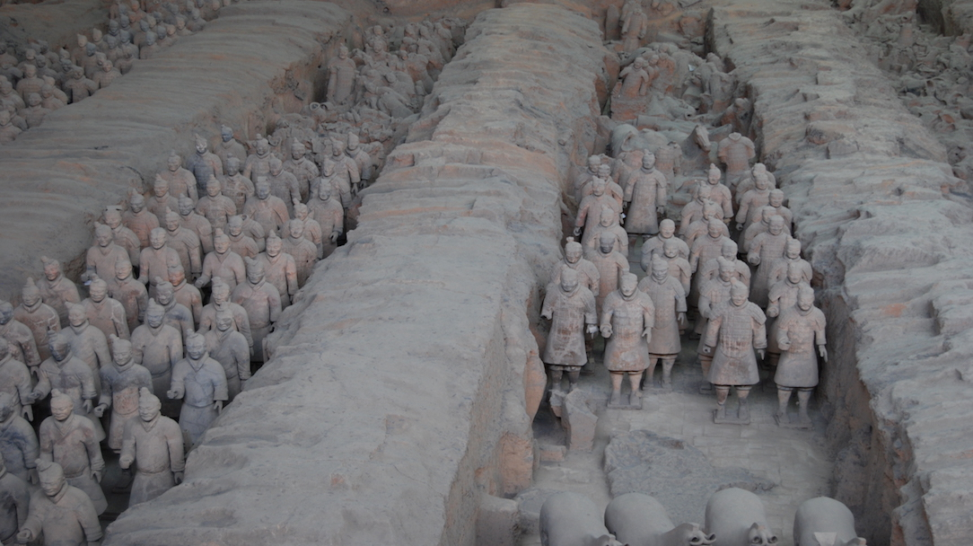 Terracottaleger China